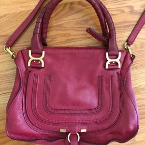 Chloe Marcie medium satchel bag (Like New)